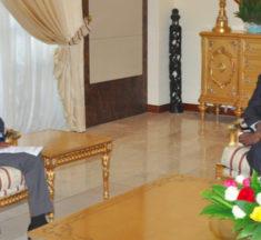 Togo : le ministre Ghanéen de la sécurité reçu par le président de la République