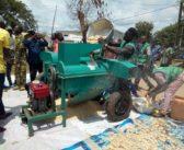 Tchamba : les producteurs de soja dotés d'outils performants