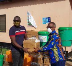 Gerry TAAMA offre de kits de protections d'une valeur de 4 millions à la prison de Lomé